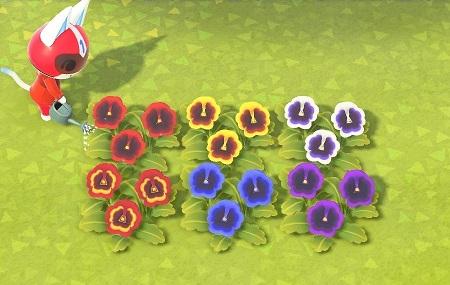 花 の 交配 表 一覧